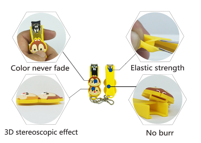 3d Cartoon Silicone Nail Clipper Holder